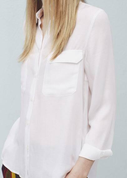 Flap pocket shirt | MANGO