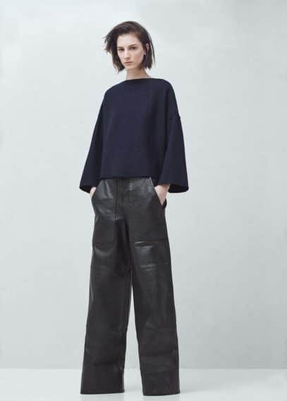 Premium - top en laine | MANGO