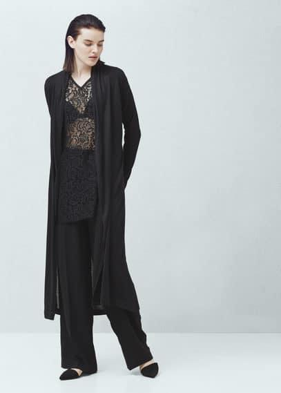 Lace blouse   MANGO