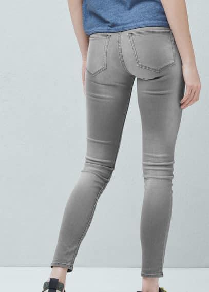 紧身elektra牛仔裤 | MANGO