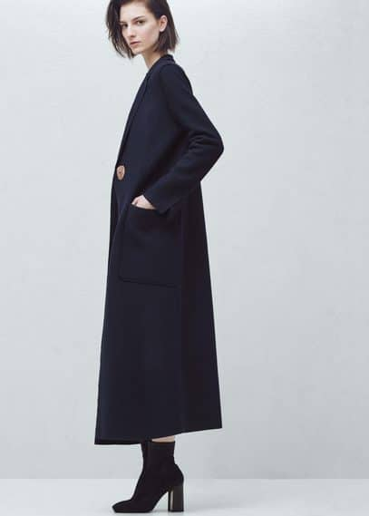 Premium - long wool coat | MANGO