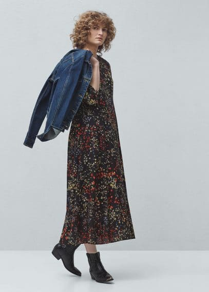 Robe à fleurs | MANGO