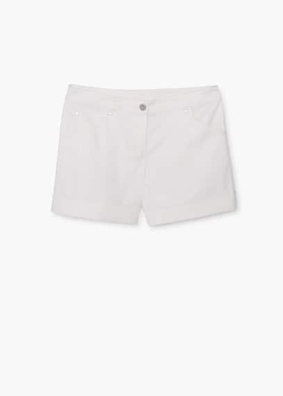Short coton | MANGO