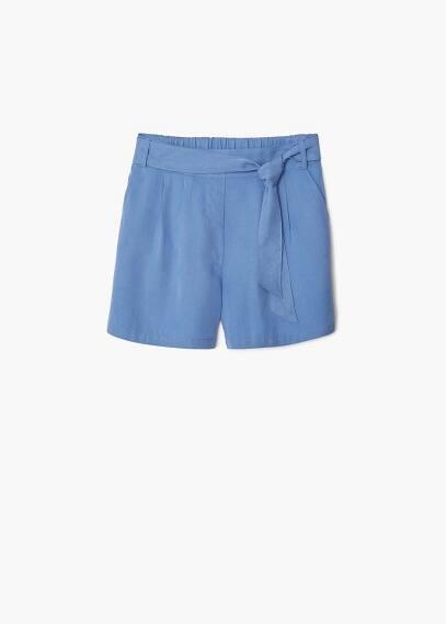 Short soft pliegues | MANGO