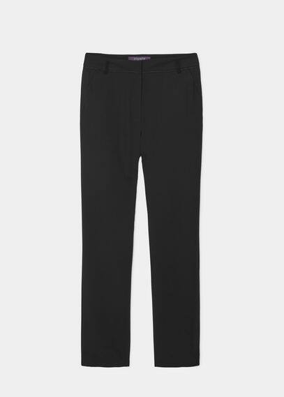 Pantalon droit costume | VIOLETA BY MANGO
