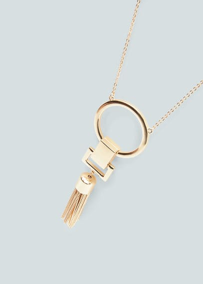 Geometric pendant necklace | MNG