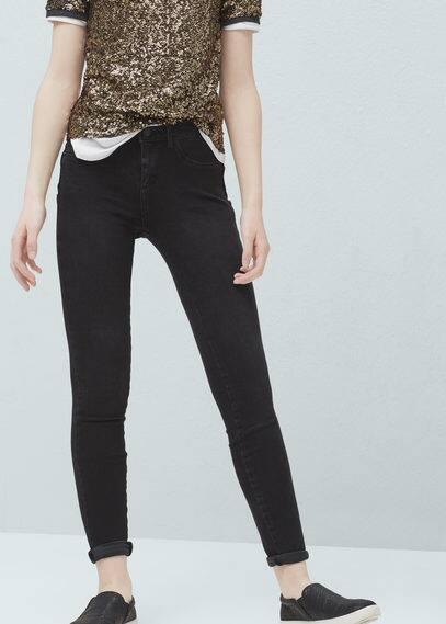 Irina skinny push-up jeans | MANGO