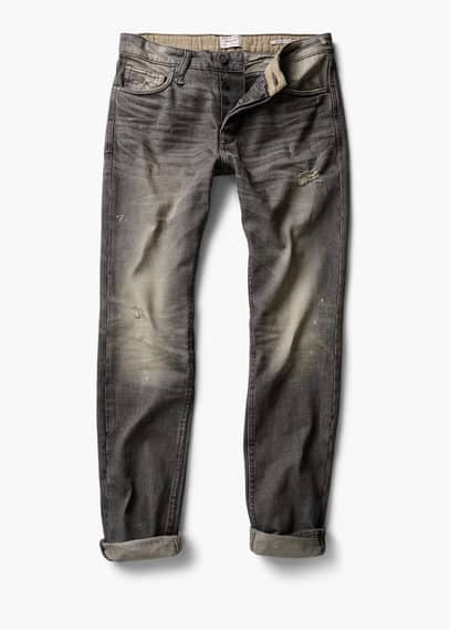 Jean marc straight-fit vintage | MANGO MAN