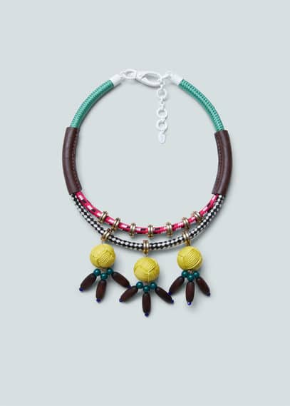 Mixed necklace | MANGO