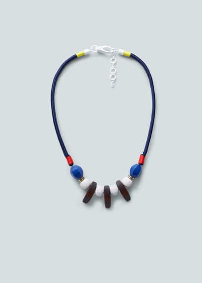 Long triple necklace | MANGO