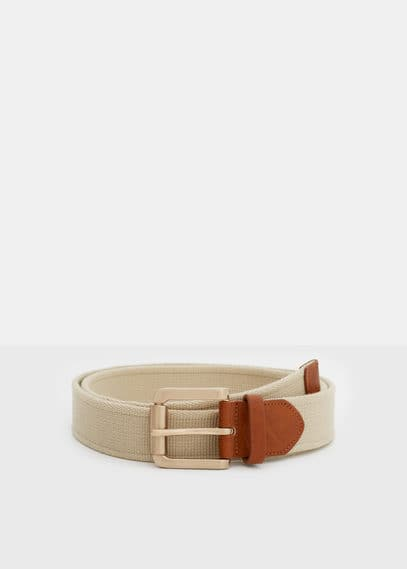Canvas belt | VIOLETA BY MANGO