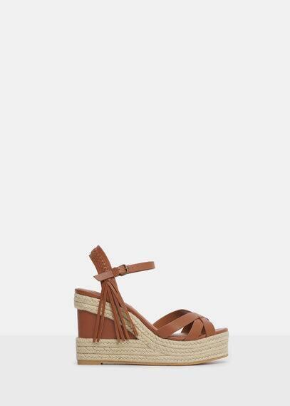 Platform strap sandals | VIOLETA BY MANGO