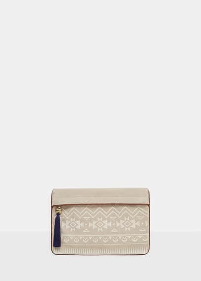 Tassel ethnic clutch | VIOLETA BY MANGO
