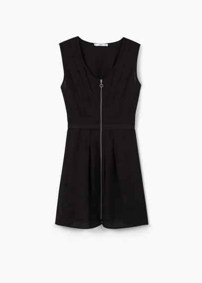 Zipped dress | MANGO
