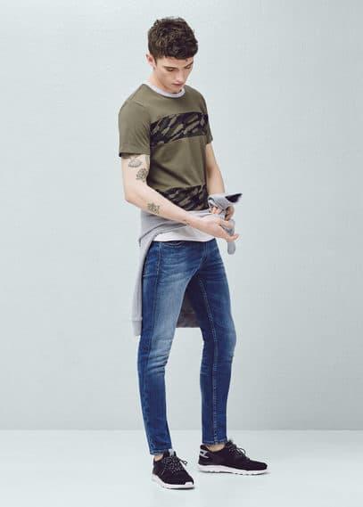 Jeans jude skinny lavado medio | MANGO MAN