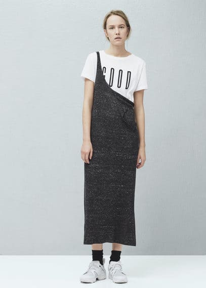 Printed cotton t-shirt | MANGO