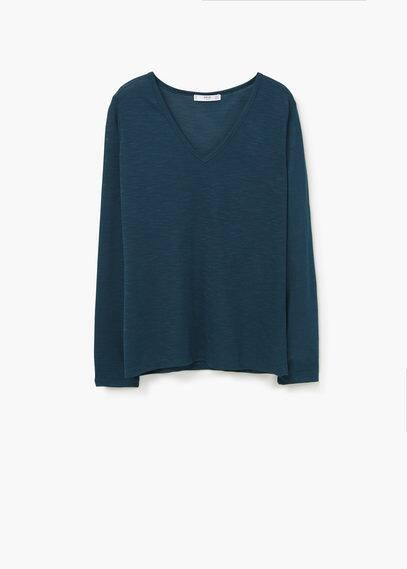 Camiseta jaspeada | MANGO