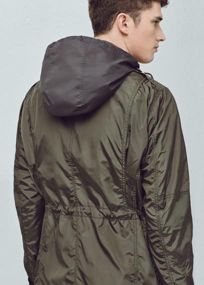 Nylon field jacket | MANGO MAN