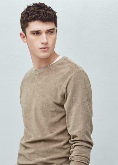 Weiches sweatshirt | MANGO MAN