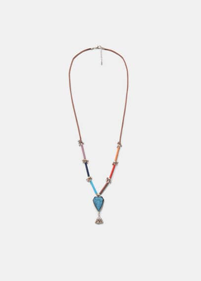 Link cord necklace | VIOLETA BY MANGO