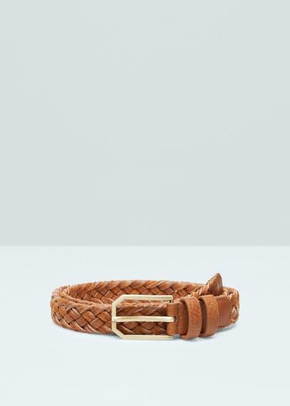 Braided belt | MANGO
