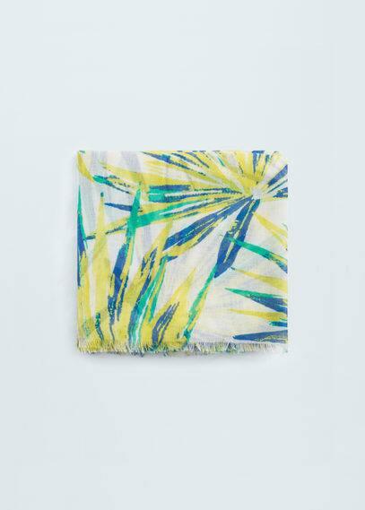 Printed scarf | MANGO