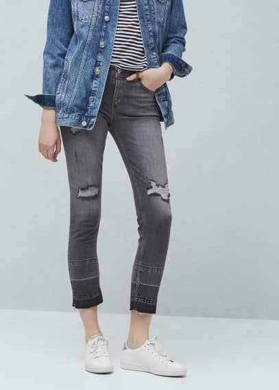 Jeans skinny crop amy | MNG