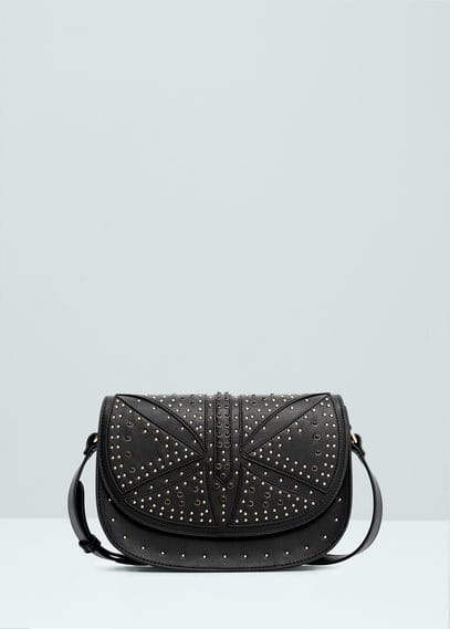 Stud cross body bag | MANGO