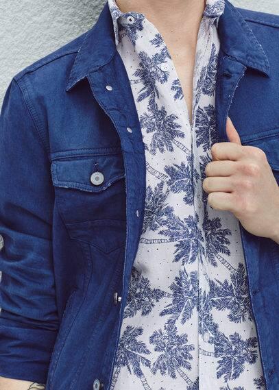 Inktkleurig spijkerjack | MANGO MAN
