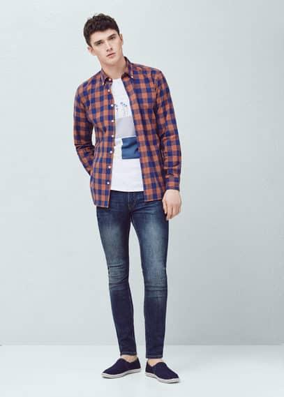 Jeans jude skinny lavaggio scuro | MANGO MAN