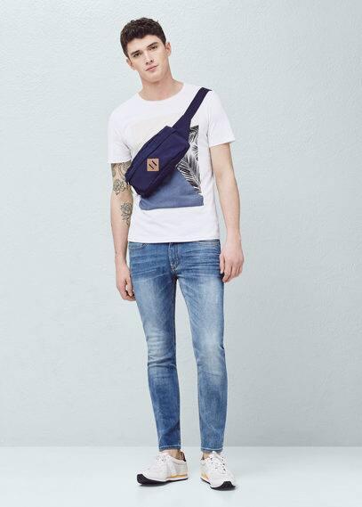Skinne jeans jude mit heller waschung   MANGO MAN