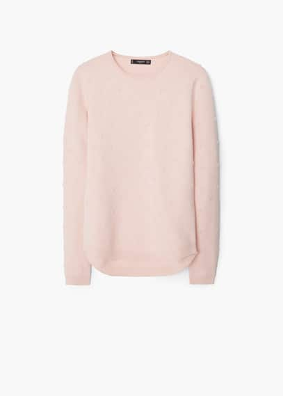 Cotton appliqués sweater | MANGO