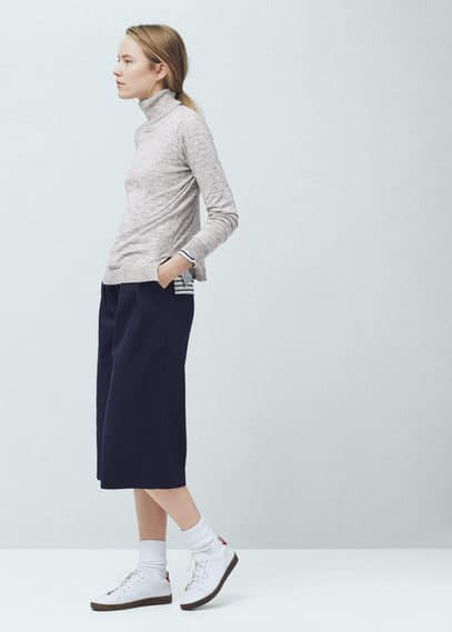 Pull-over col roulé | MANGO