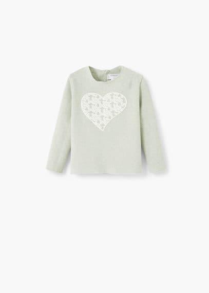 Cartoon cotton sweatshirt   MANGO KIDS