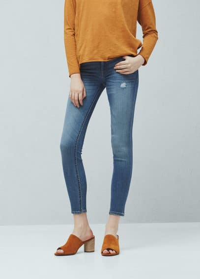 Uptown push-up jeans | MANGO