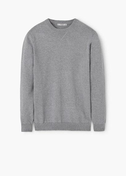 Pullover mit rundhalsausschnitt | MANGO MAN