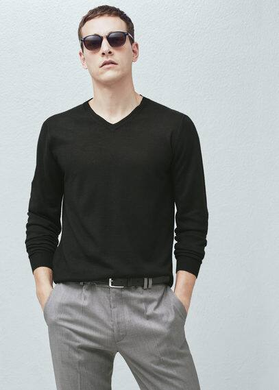 Pullover aus woll-mix | MANGO MAN