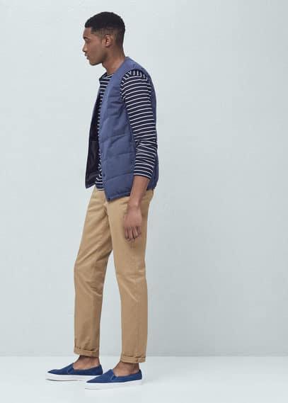 Chino straight-fit coton | MANGO MAN