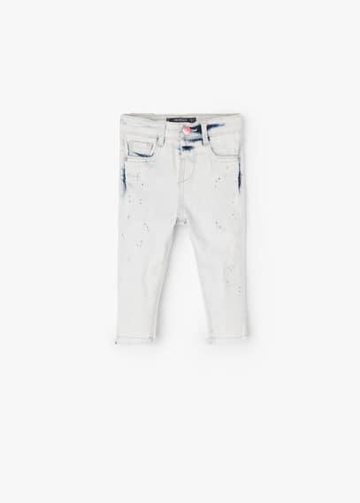 Jeans slim vernice   MANGO KIDS