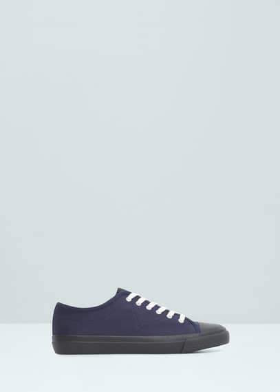 Lace-up sneakers | MANGO MAN