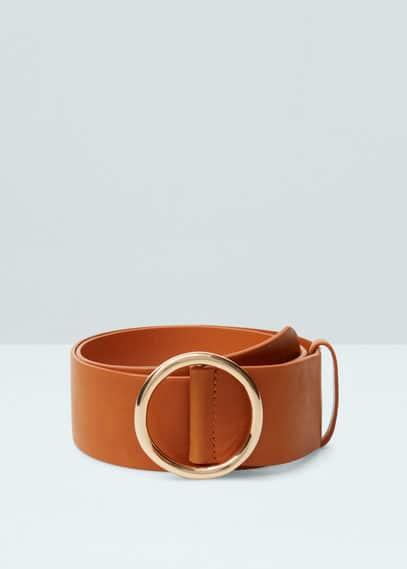 Metal buckle belt | MANGO