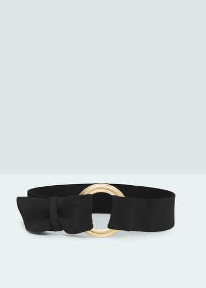 Suede obi belt | MANGO