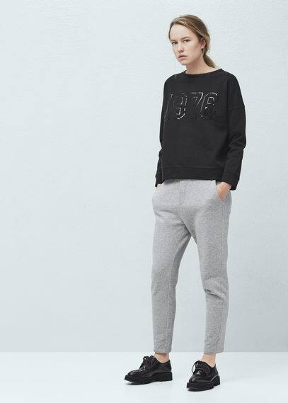 Sweatshirt -- ale | MANGO