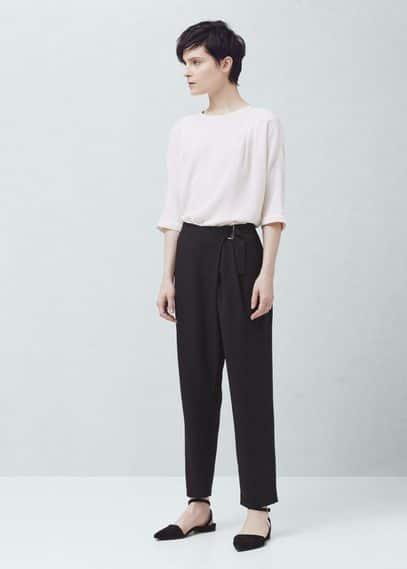Buckle suit trousers | MANGO