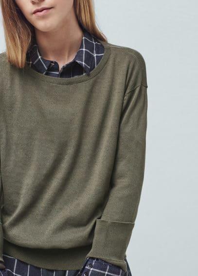 Jersey fino algodón | MANGO