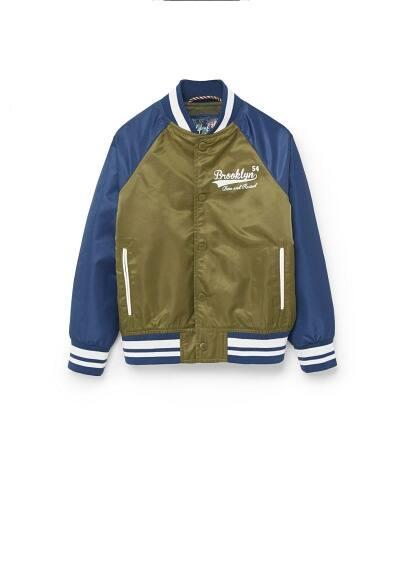 Kolej tarzı yazılı ceket