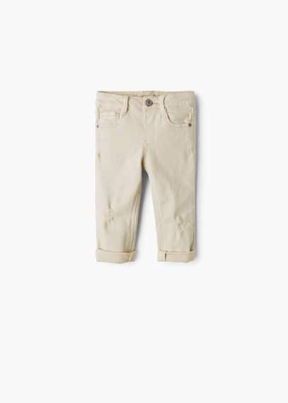 Cotton trousers   MANGO KIDS
