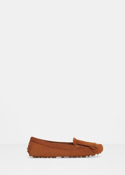 Suede loafers | VIOLETA BY MANGO