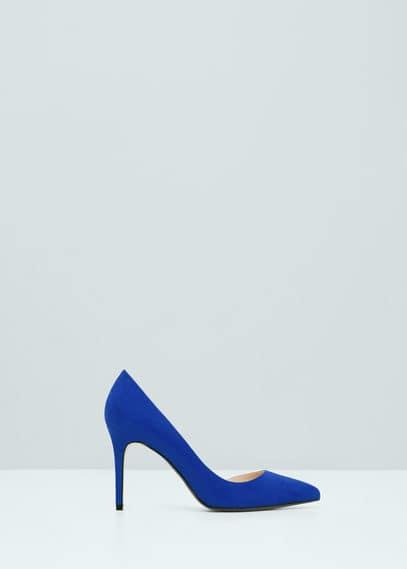 Asymetric stiletto shoes | MANGO