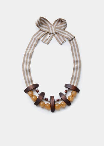 Bead necklace | VIOLETA BY MANGO